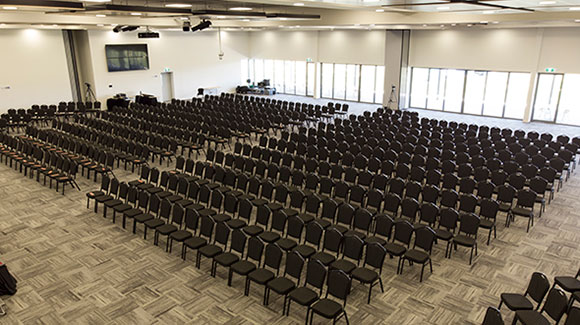 Conference Seating for 1200 attendees